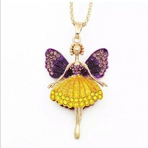 Betsy Johnson Fairy Necklace